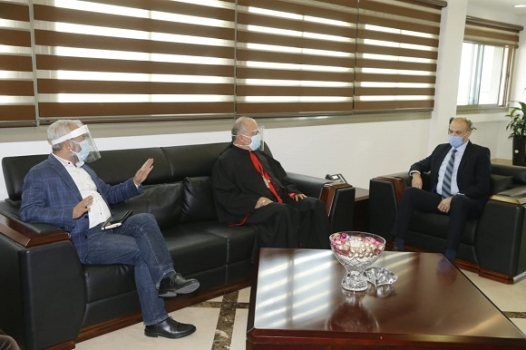 Minister Hasan and Habshi Consider Equipping the Charity Hospital in Deir el Ahmar to Receive COVID-19 Patients